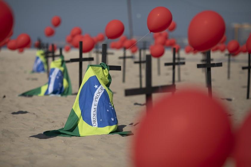 Brasil superó los 155 mil casos por covid-19
