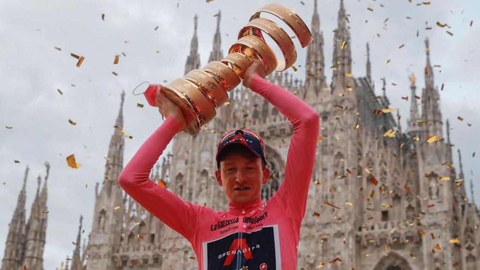 Tao Geoghegan Hart - Giro de Italia