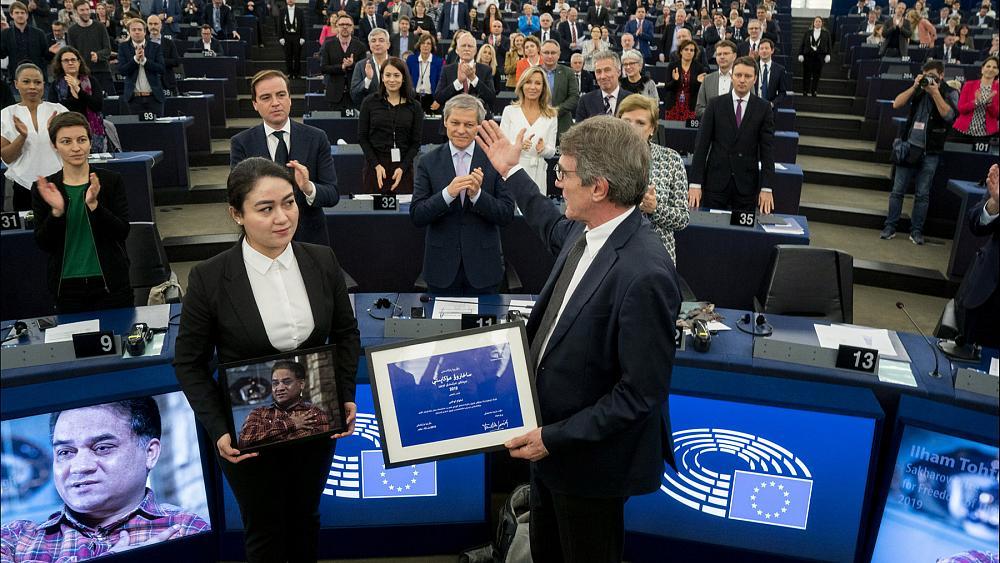 premio sájarov - Bielorrusia