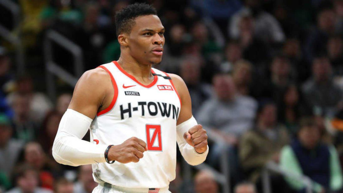 Russell Westbrook - propina