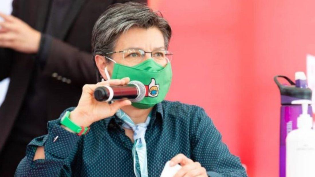 Polémica por declaraciones de alcaldesa de Bogotá tras detención de antisocial