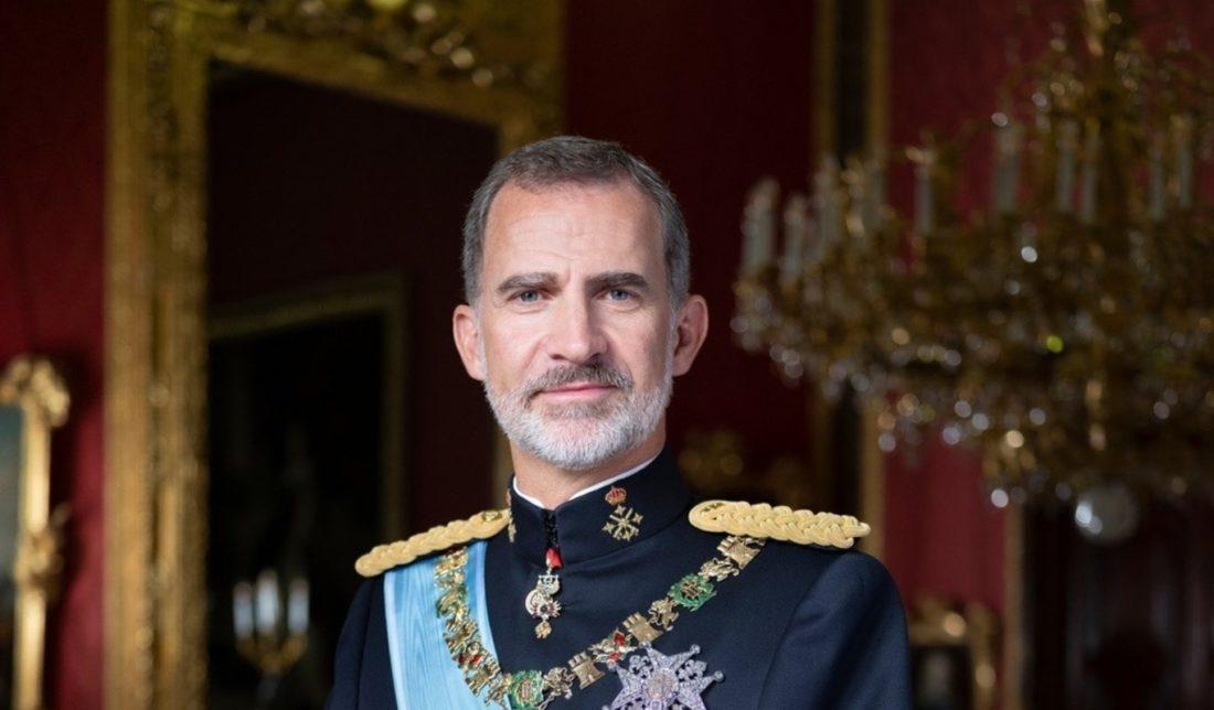 Rey Felipe VI en cuarentena tras tener contacto con un positivo para covid-19