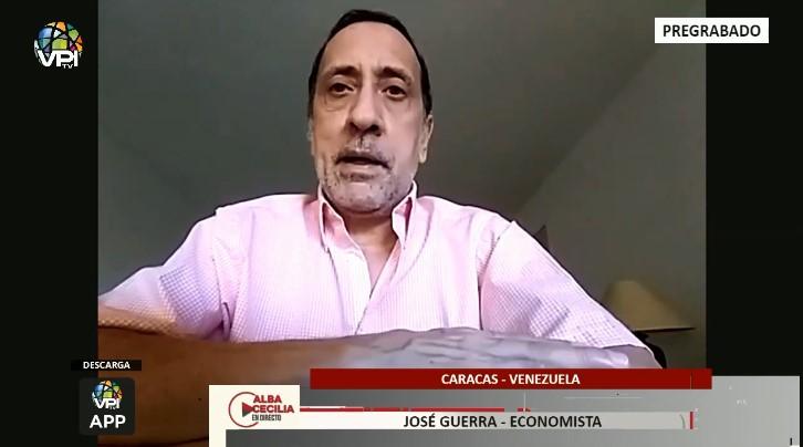 José Guerra aseguró que la crisis en Venezuela no es producto de las sanciones (+ Video)
