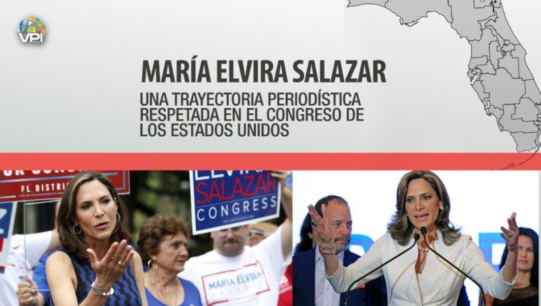Del periodismo al Congreso de los EEUU: ¿Quién es María Elvira Salazar?