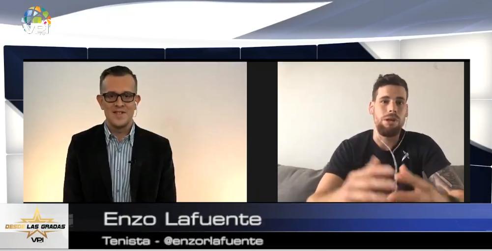 Enzo Lafuente contó todo sobre el deporte de su vida: el 'beach tenis'