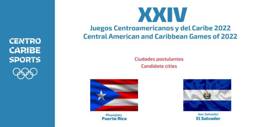 Puerto Rico y El Salvador podrían organizar los XXIV Juegos Centroamericanos y del Caribe 2022