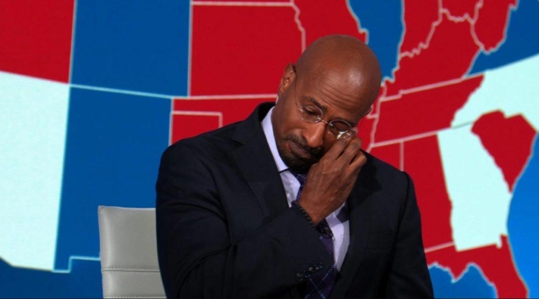 Este analista de CNN estalló en lágrimas por victoria de Biden
