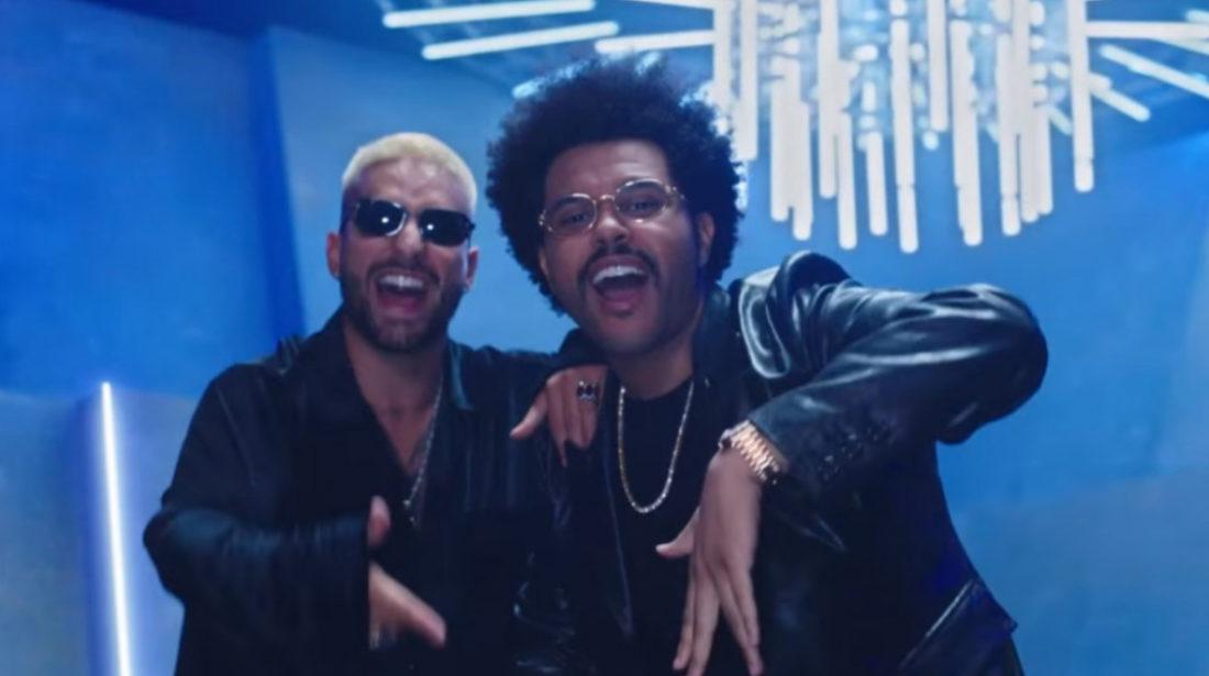 Maluma y The Weeknd presentan el remix de Hawái