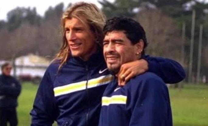 """Claudio Caniggia: """"Estoy devastado, Diego era mi hermano del alma"""""""