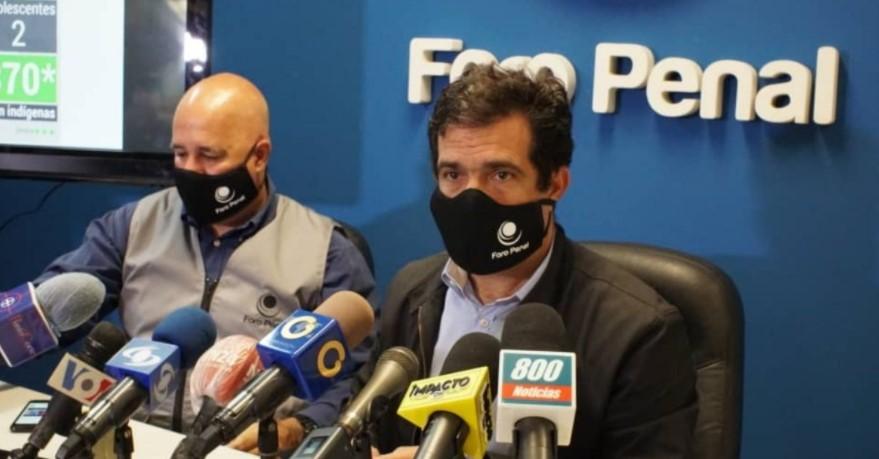 Foro Penal informó sobre presos políticos que padecen enfermedades graves