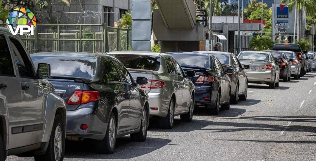 """""""Colapso total"""" en municipio Libertador de Carabobo por escasez de combustible"""