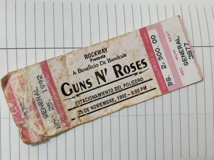 Guns N' Roses en Caracas