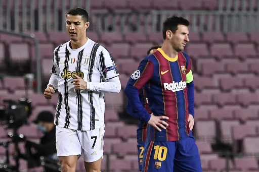 Juventus goleó al Barcelona con doblete de Cristiano Ronaldo
