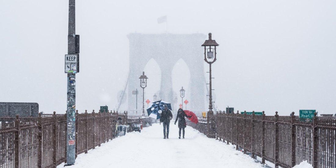 Nueva York tormenta de nieve
