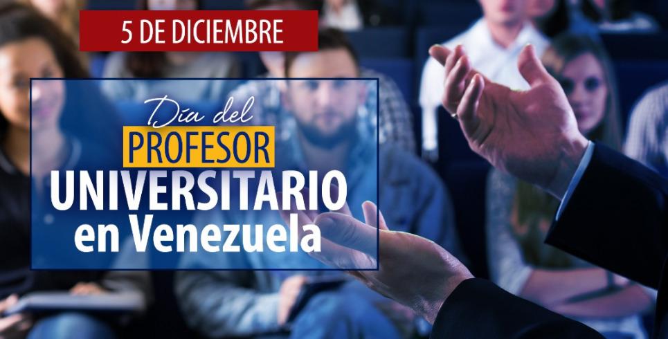 Venezuela celebra el Día del Profesor Universitario