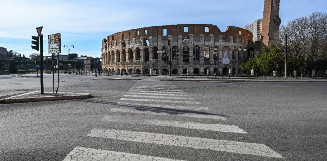 Semana de restricciones en Italia