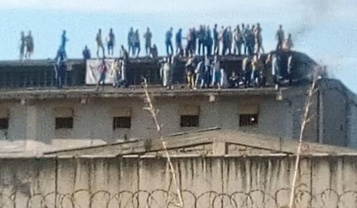 Reos de centro penitenciario en Carabobo protestan por falta de alimentos