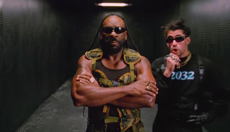"""Con """"Booker T"""": nuevo video de Bad Bunny la rompe en redes sociales"""