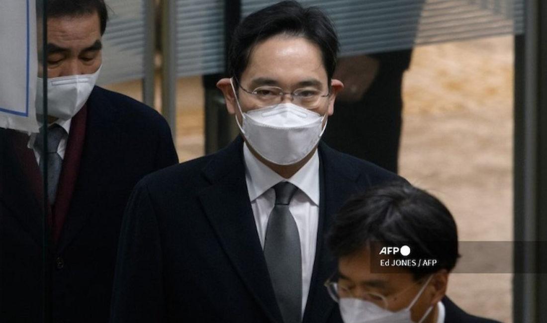 Heredero de Samsung tras las rejas